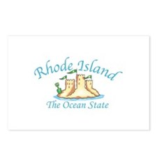 Rhode Island The Ocean State Postcards (Package of