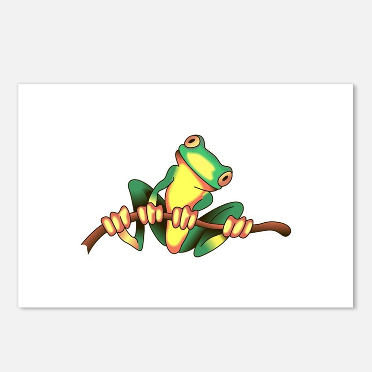TREE FROG Postcards (Package of 8)