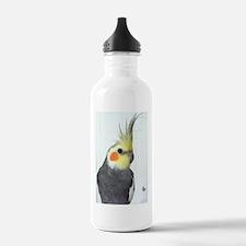Cockatiel Photo Water Bottle