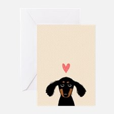 Dachshund Love Greeting Cards (pk Of 10)