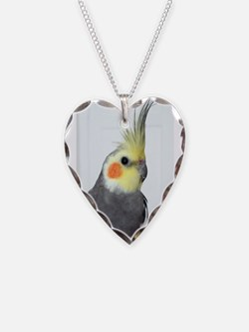 Cockatiel Photo Necklace