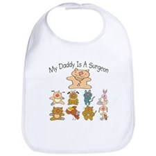 My Daddy Is A Surgeon Cute Baby/Toddler Bib