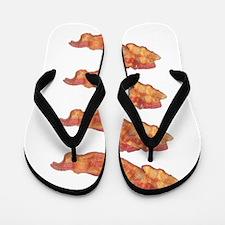 Beautiful Bacon Flip Flops