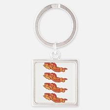 Beautiful Bacon Keychains