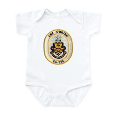 USS O'BRIEN Infant Bodysuit