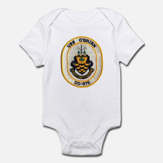 USS O'BRIEN Infant Bodysuit