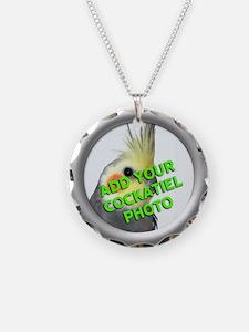 Custom Cockatiel Photo Necklace