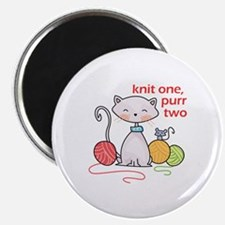 KNIT ONE PURR TWO Magnets