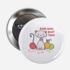 """KNIT ONE PURR TWO 2.25"""" Button (10 pack)"""