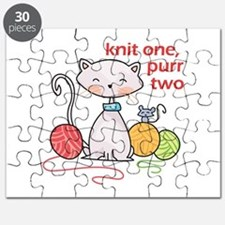 KNIT ONE PURR TWO Puzzle