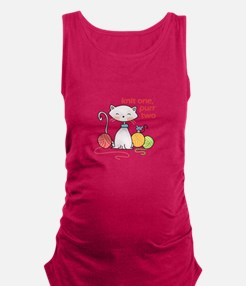 KNIT ONE PURR TWO Maternity Tank Top
