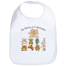 My Mommy Is A Veterinarian Baby/Toddler Bib