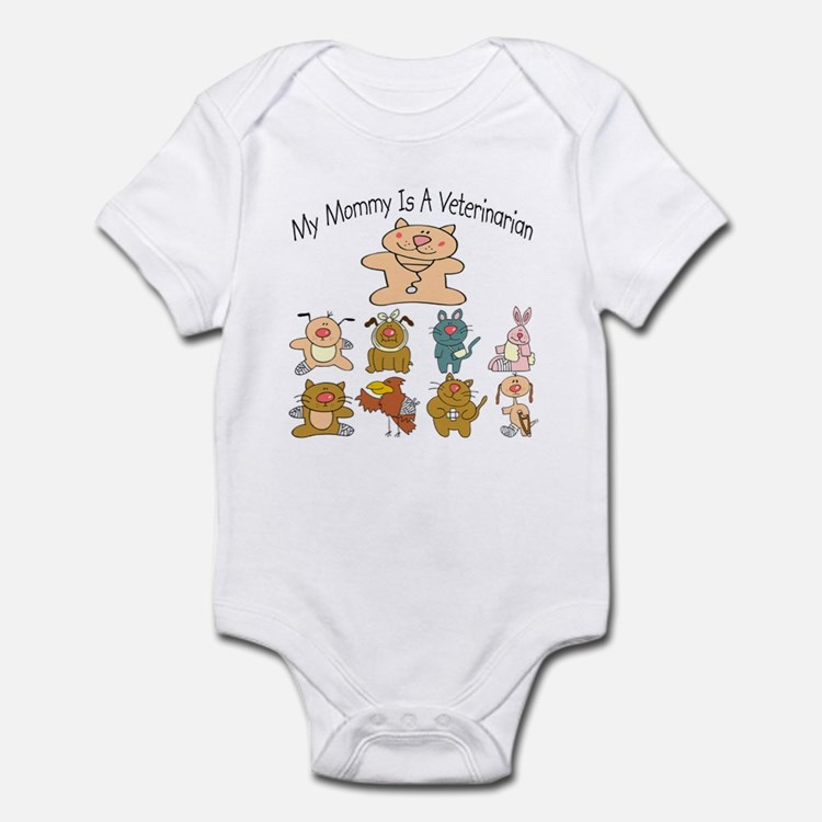 My Mommy Is A Veterinarian Baby/Toddler bodysuit