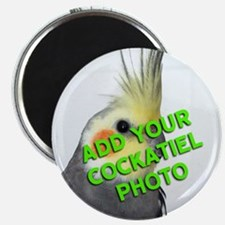Custom Cockatiel Photo Magnet