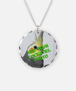Custom Cockatiel Photo Necklace