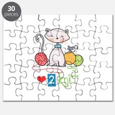 LOVE TO KNIT Puzzle