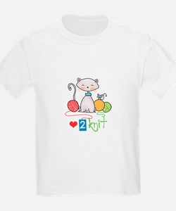 LOVE TO KNIT T-Shirt