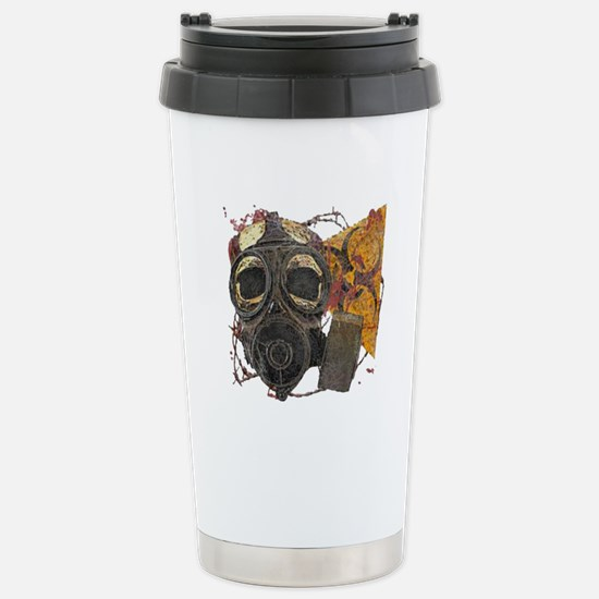 Biohazard Zombie Apocal Stainless Steel Travel Mug