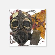 Biohazard Zombie Apocalypse Sticker