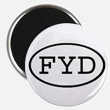 FYD Oval Magnet