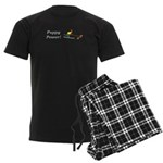 Puppy Power Men's Dark Pajamas