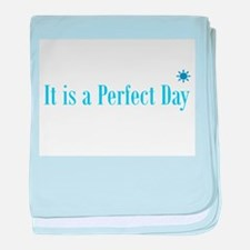 Perfect day baby blanket