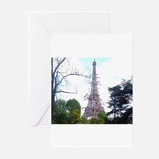 Paris in spring Greeting Cards