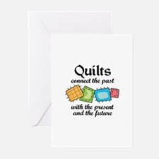QUILTS CONNECT Greeting Cards