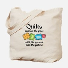 QUILTS CONNECT Tote Bag
