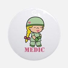 Medic Ornament (Round)