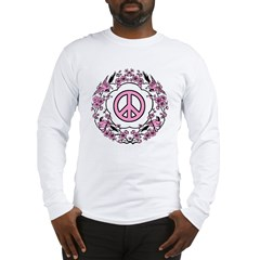 Chinese Peace Symbol Long Sleeve T-Shirt