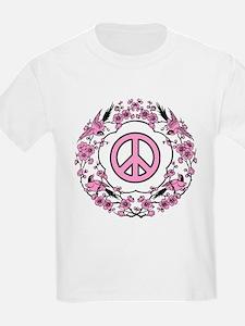 Chinese Peace Symbol Kids T-Shirt