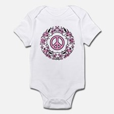 Chinese Peace Symbol Infant Creeper
