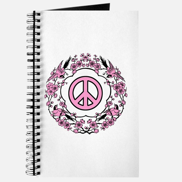 Chinese Peace Symbol Journal