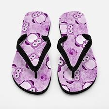 Owls Wallpaper,purple Flip Flops