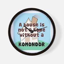 Komondor Home Wall Clock