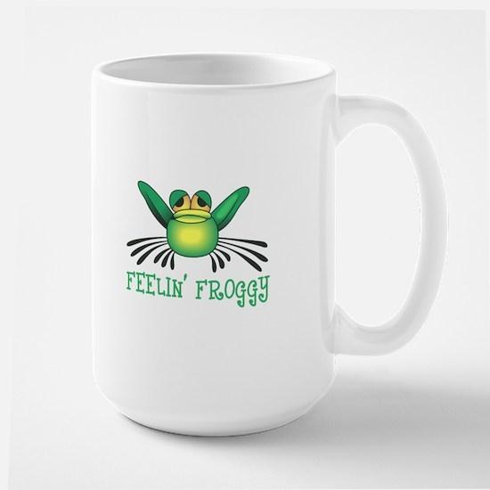 FEELIN FROGGY Mugs