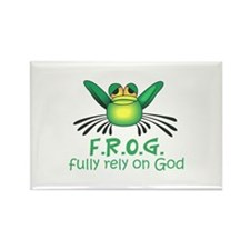FULLY RELY ON GOD Magnets