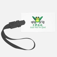 FULLY RELY ON GOD Luggage Tag