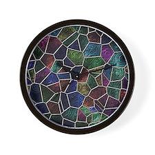 Mosaic LORA multicolor Wall Clock