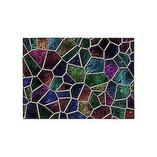 Mosaic LORA multicolor 5'x7'Area Rug