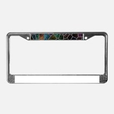 Mosaic LORA multicolor License Plate Frame