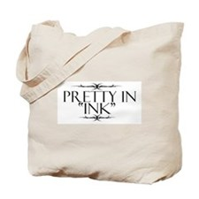 Pretty in Ink Tote Bag