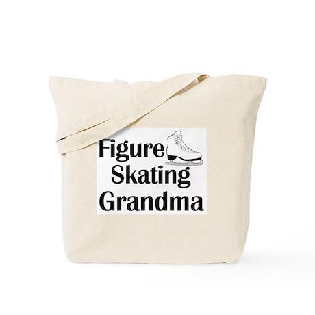 Figure Skating Grandma Tote Bag
