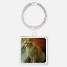 Red Burmese Cat Keychains