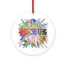 Rupert from Survivor Ornament (Round)