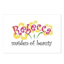 Rebecca Postcards (Package of 8)