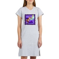 Cow Jumping Over Moon Women's Nightshirt