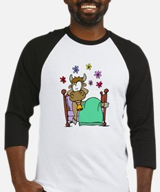 Cow In Bed Baseball Jersey