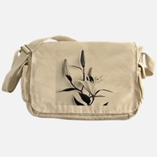 Flowers Lilium Messenger Bag